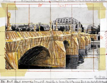 Christo-plan-pont-neuf-1984