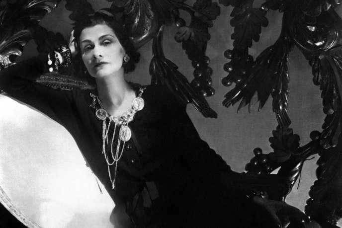 Coco Chanel, en 1944 à Paris. AFP