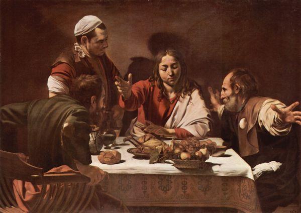 le-souper-à-emmaus-le-caravage-1601