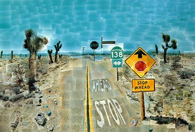 Pearblossom Highway-David Hockney