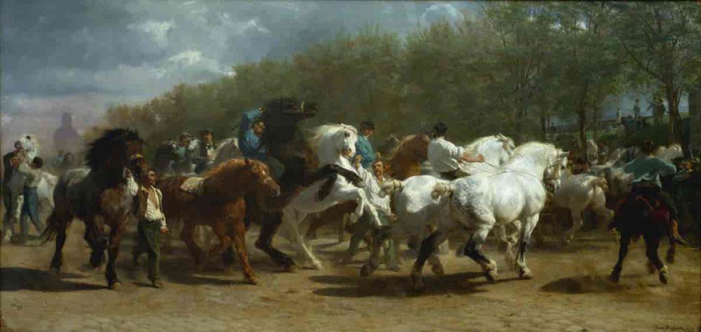 talivera-zoom-artiste-rosa-bonheur-le-marché-aux-chevaux-1853