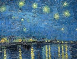 Nuit étoilée van Gogh